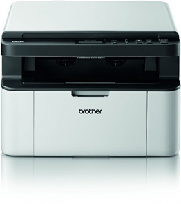 Brother DCP-1510 Kompaktes 3-in-1 Laser-Multifunktionsgerät (Scanner, Kopierer, Drucker) schwarz/weiß - 1