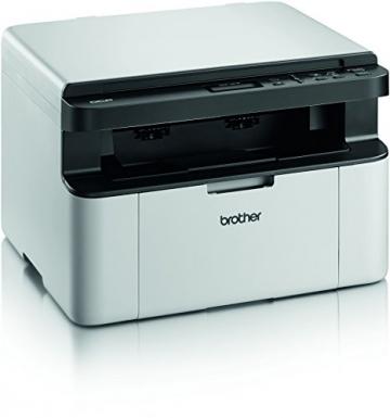 Brother DCP-1510 Kompaktes 3-in-1 Laser-Multifunktionsgerät (Scanner, Kopierer, Drucker) schwarz/weiß - 2