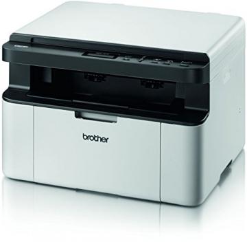 Brother DCP-1510 Kompaktes 3-in-1 Laser-Multifunktionsgerät (Scanner, Kopierer, Drucker) schwarz/weiß - 3