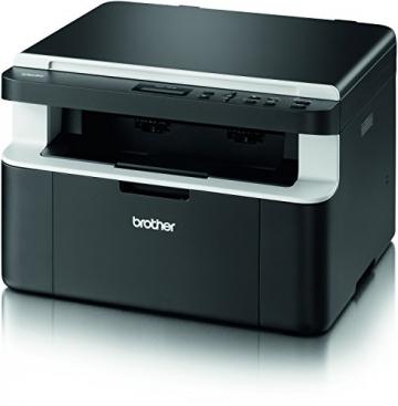 Brother DCP-1512 Kompaktes 3-in-1 Laser-Multifunktionsgerät (Scanner, Kopierer, Drucker) schwarz - 3