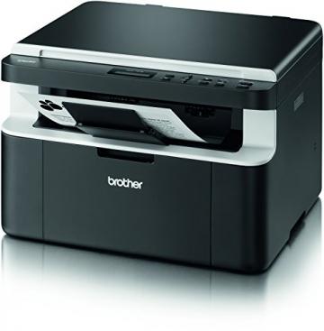 Brother DCP-1512 Kompaktes 3-in-1 Laser-Multifunktionsgerät (Scanner, Kopierer, Drucker) schwarz - 4