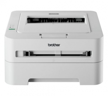 Brother HL-2135W Monochrome Laserdrucker (2400x600dpi, WLAN) weiß - 1