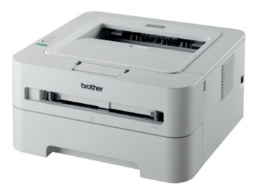 Brother HL-2135W Monochrome Laserdrucker (2400x600dpi, WLAN) weiß - 2