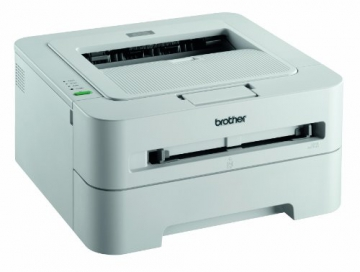 Brother HL-2135W Monochrome Laserdrucker (2400x600dpi, WLAN) weiß - 3