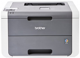 Brother HL-3140CW Farblaserdrucker (USB 2.0, WLAN) grau/weiß - 1