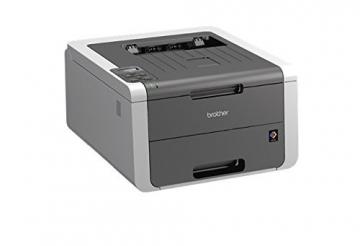 Brother HL-3140CW Farblaserdrucker (USB 2.0, WLAN) grau/weiß - 4