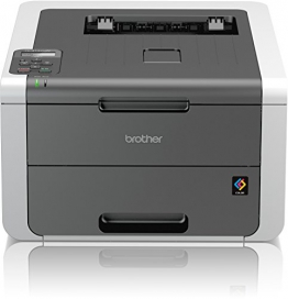 Brother HL-3142CW High-Speed Farblaserdrucker mit WLAN weiß/grau - 1