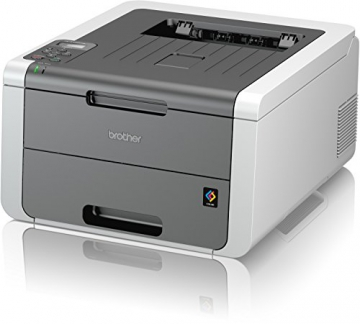 Brother HL-3142CW High-Speed Farblaserdrucker mit WLAN weiß/grau - 2
