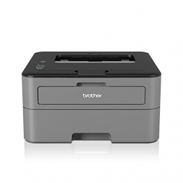 Brother HL-L2300D Monochrome Laserdrucker (2400 x 600 dpi, USB 2.0) schwarz - 1