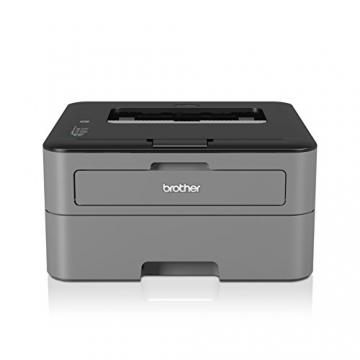 Brother HL-L2300D Monochrome Laserdrucker (2400 x 600 dpi, USB 2.0) schwarz - 1