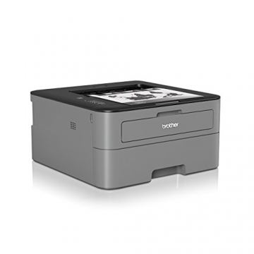 Brother HL-L2300D Monochrome Laserdrucker (2400 x 600 dpi, USB 2.0) schwarz - 2