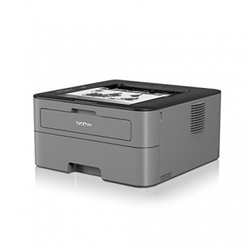 Brother HL-L2300D Monochrome Laserdrucker (2400 x 600 dpi, USB 2.0) schwarz - 3