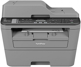 Brother MFC-L2700DN Monolaser-Multifunktionsdrucker (Drucken, scannen, kopieren, faxen, 2.400x600 dpi, USB 2.0 Hi-Speed, Duplex) grau - 1