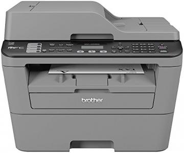 Brother MFC-L2700DN Monolaser-Multifunktionsdrucker (Drucken, scannen, kopieren, faxen, 2.400x600 dpi, USB 2.0 Hi-Speed, Duplex) grau - 1