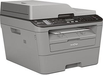 Brother MFC-L2700DN Monolaser-Multifunktionsdrucker (Drucken, scannen, kopieren, faxen, 2.400x600 dpi, USB 2.0 Hi-Speed, Duplex) grau - 2