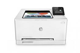 HP Color LaserJet Pro 200 M252dw Farblaserdrucker (A4, Drucker, Ethernet, WLAN, Duplex, USB, 600 x 600 dpi) weiß - 1