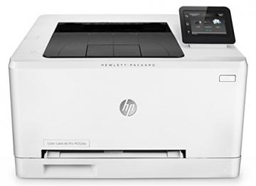 HP Color LaserJet Pro 200 M252dw Farblaserdrucker (A4, Drucker, Ethernet, WLAN, Duplex, USB, 600 x 600 dpi) weiß - 3