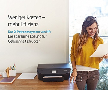 HP Deskjet 3630 (K4T99B) Multifunktionsdrucker (A4, WLAN Drucker, Scanner, Kopierer, Apple AirPrint, HP Instant Ink, USB 2.0, 4800 x 1200 dpi) weiß - 6