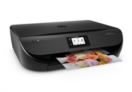 HP Envy 4520 (F0V63B) All in One Multifunktionsdrucker (Fotodrucker, Scanner, Kopierer, 4800 x 1200 dpi, USB, Duplex, WiFi Direct) schwarz - 1