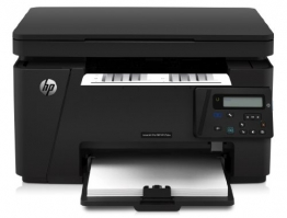 HP LaserJet Pro M125nw Mono MFP Laserdrucker (Scanner, Drucker, Kopierer, WLAN, Ethernet, USB 2.0) schwarz - 1