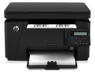 HP LaserJet Pro M125nw Mono MFP Laserdrucker (Scanner, Drucker, Kopierer, WLAN, Ethernet, USB 2.0) schwarz - 1