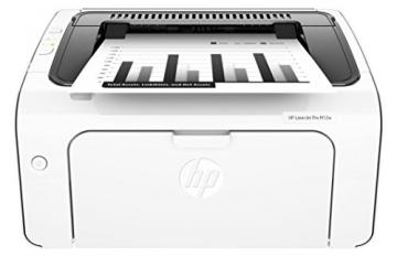 HP LaserJet Pro M12w Schwarzweiß-Laserdrucker (Drucker, WLAN, HP ePrint, Apple Airprint, USB, 600 x 600 dpi) weiß - 1