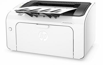 HP LaserJet Pro M12w Schwarzweiß-Laserdrucker (Drucker, WLAN, HP ePrint, Apple Airprint, USB, 600 x 600 dpi) weiß - 3