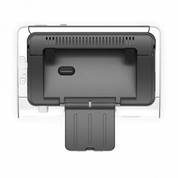 HP LaserJet Pro M12w Schwarzweiß-Laserdrucker (Drucker, WLAN, HP ePrint, Apple Airprint, USB, 600 x 600 dpi) weiß - 4