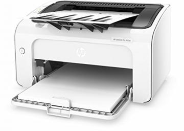 HP LaserJet Pro M12w Schwarzweiß-Laserdrucker (Drucker, WLAN, HP ePrint, Apple Airprint, USB, 600 x 600 dpi) weiß - 7