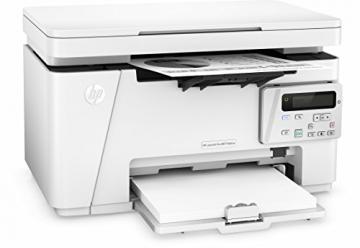 HP LaserJet Pro M26nw Schwarzweiß-Laserdrucker Multifunktionsgerät (Drucker, Scanner, Kopierer, WLAN, LAN, HP ePrint, Apple Airprint, USB, 600 x 600 dpi) weiß - 2