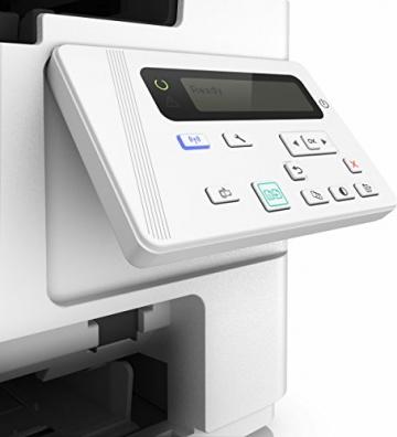 HP LaserJet Pro M26nw Schwarzweiß-Laserdrucker Multifunktionsgerät (Drucker, Scanner, Kopierer, WLAN, LAN, HP ePrint, Apple Airprint, USB, 600 x 600 dpi) weiß - 4