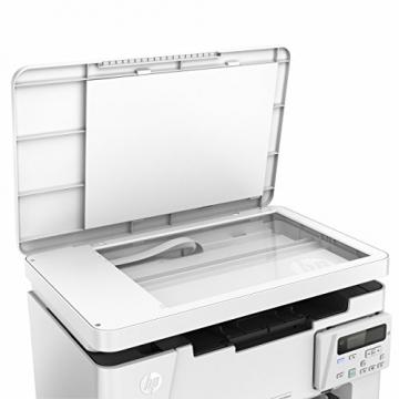 HP LaserJet Pro M26nw Schwarzweiß-Laserdrucker Multifunktionsgerät (Drucker, Scanner, Kopierer, WLAN, LAN, HP ePrint, Apple Airprint, USB, 600 x 600 dpi) weiß - 5