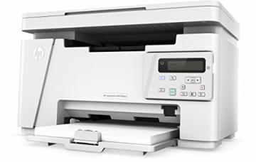 HP LaserJet Pro M26nw Schwarzweiß-Laserdrucker Multifunktionsgerät (Drucker, Scanner, Kopierer, WLAN, LAN, HP ePrint, Apple Airprint, USB, 600 x 600 dpi) weiß - 8