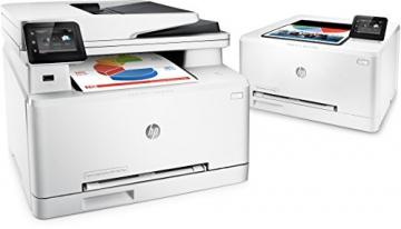 HP LaserJet Pro MFP M277dw Laser Multifunktionsdrucker (A4, Farblaserdrucker, Scanner, Kopierer, Fax, Duplex, Ethernet, USB, Wlan, 600 x 600) weiß - 4