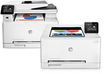 HP LaserJet Pro MFP M277dw Laser Multifunktionsdrucker (A4, Farblaserdrucker, Scanner, Kopierer, Fax, Duplex, Ethernet, USB, Wlan, 600 x 600) weiß - 5