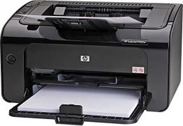 HP LaserJet Pro (P1102w) ePrint Mono Laserdrucker (A4, Drucker, Wlan, USB, 600x600) schwarz - 1