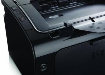 HP LaserJet Pro (P1102w) ePrint Mono Laserdrucker (A4, Drucker, Wlan, USB, 600x600) schwarz - 4