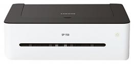 Ricoh SP 150 408002 Mono-Laserdrucker (A4, Schwarzweiß Drucker, USB, 1200 x 600 dpi) weiß/schwarz - 1