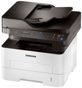 Samsung Xpress M2675FN/XEC Monolaser-Multifunktionsgerät (Drucken, Scannen, Kopieren, Faxen, 4.800 x 600 dpi, 128 MB Speicher, 600 MHz Prozessor) - 1