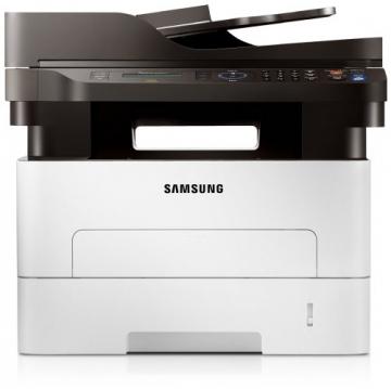 Samsung Xpress M2675FN/XEC Monolaser-Multifunktionsgerät (Drucken, Scannen, Kopieren, Faxen, 4.800 x 600 dpi, 128 MB Speicher, 600 MHz Prozessor) - 3