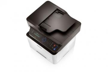 Samsung Xpress M2675FN/XEC Monolaser-Multifunktionsgerät (Drucken, Scannen, Kopieren, Faxen, 4.800 x 600 dpi, 128 MB Speicher, 600 MHz Prozessor) - 6