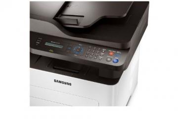 Samsung Xpress M2675FN/XEC Monolaser-Multifunktionsgerät (Drucken, Scannen, Kopieren, Faxen, 4.800 x 600 dpi, 128 MB Speicher, 600 MHz Prozessor) - 8