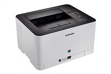 Samsung Xpress SL-C430 Farblaserdrucker (Drucken, 2.400 x 600 dpi, 64 MB Speicher, 400 MHz Prozessor) grau/schwarz - 1